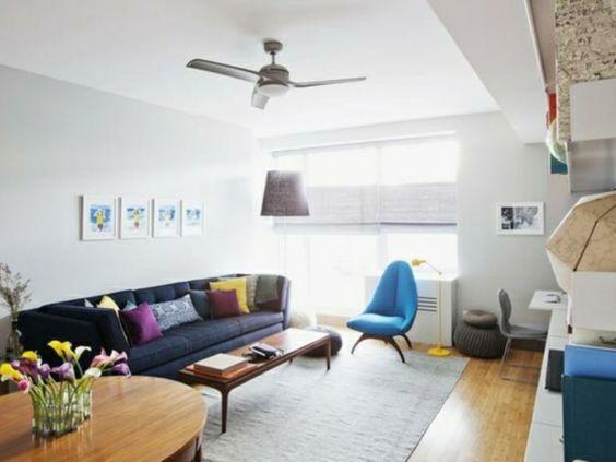 Wohnzimmer in Schwarz/Weiß einrichten und gestalten