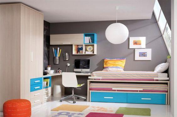 dormitorios juveniles abuhardillados - Buscar con Google