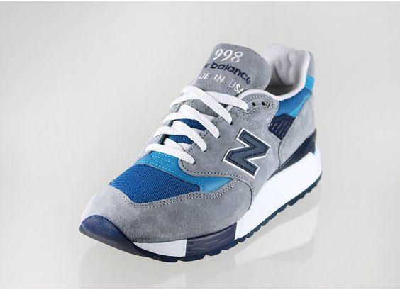 New Balance m998md *USA* (Grey / Blue)