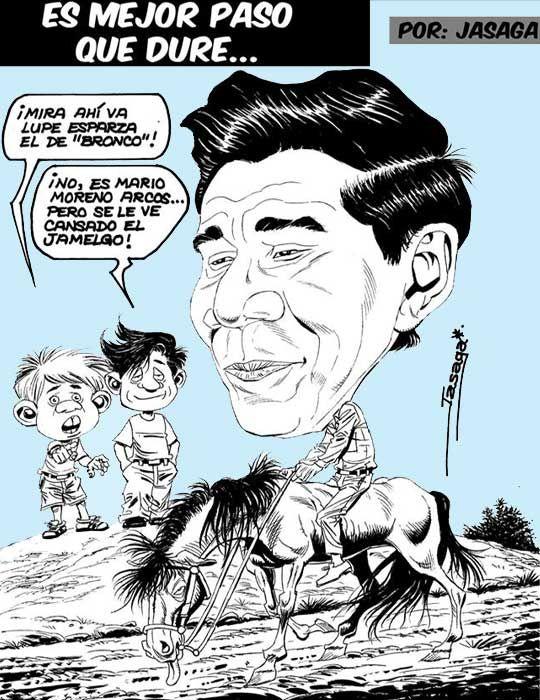 La Grilla del Pueblo: Mario Moreno…. ¿jinete sin rumbo?   Efecto Espejo