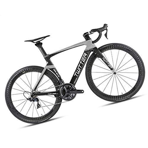 Dubaobao Bicicleta De Carretera Adecuada Para Personas De Altura Bicicleta De Carretera De Fibra De Car Bicicleta Deportiva Bicicleta De Carretera Bicicletas