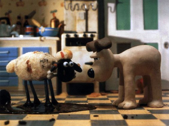 from A Close Shave, a Wallace and Gromit movie from Aardman Animations