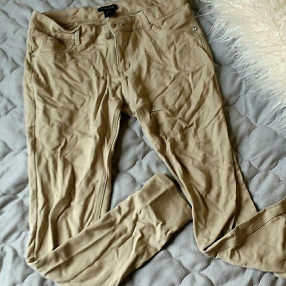 Tan Skinny Jeans | Skinny jeans, Ea and Pants