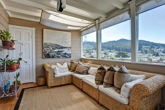 AMAZING VIEWS from this apartment--remodeled /storage / deck