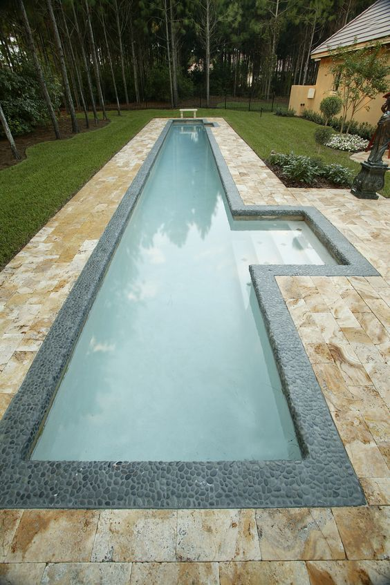 Pool tile can help create your pool space