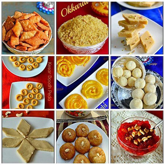 Những món ăn phong phú và đa dạng