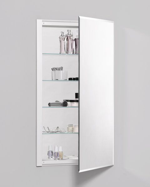 R3 Series Recessed Or Surface Mount Frameless Medicine Cabinet With 3 Adjustable Shelves Medicine Cabinet Mirror Bathroom Mirror Cabinet Recessed Medicine Cabinet