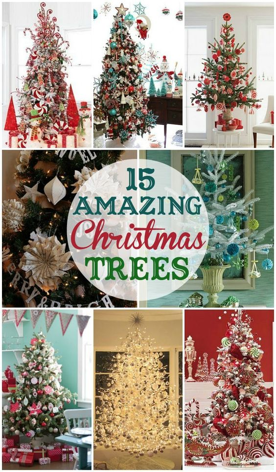 15 amazing christmas trees to inspire your own christmas for Amazing christmas tree decorations
