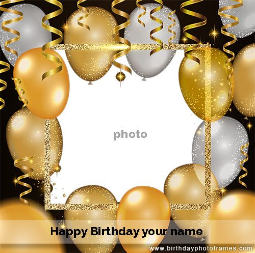 First Birthday Invitation Card Maker With Photo Birthday Card With Photo Birthday Card With Name Birthday Wishes With Photo