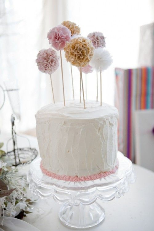 Cakes Cake Toppers And Shabby Chic Baby Shower On Pinterest