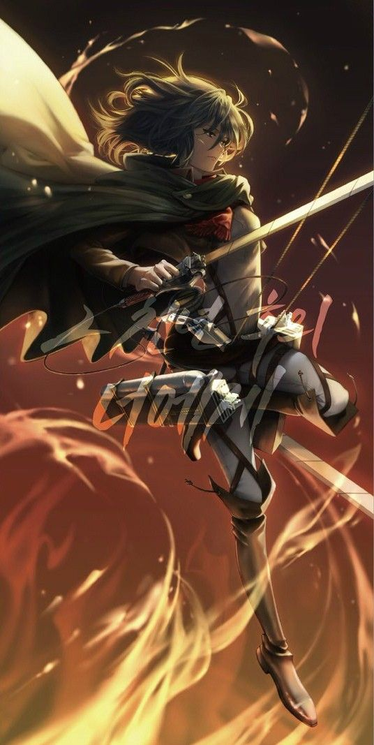 Mikasa Ackerman Attack On Titan Fanart Attack On Titan Anime Attack On Titan