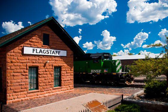 "500px / Photo ""Downtown Flagstaff"" by John Hunter"