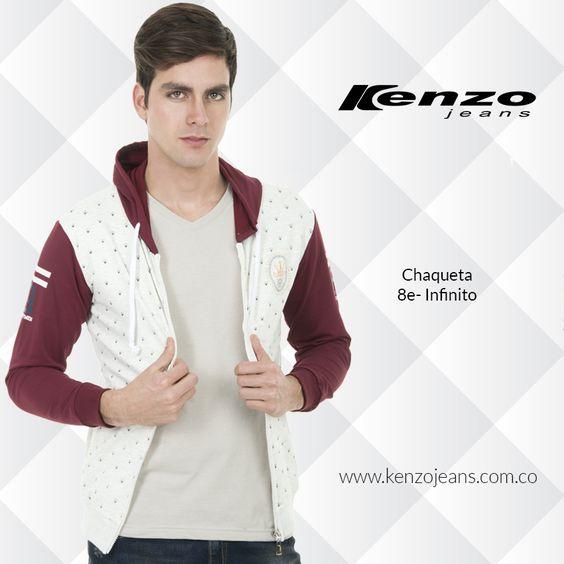 Una prenda básica y polivalente, con ella podrás crear un #look sport o casual ya que se adapta a cualquier ocasión. #KenzoJeansaUnClic más en www.kenzojeans.com.co