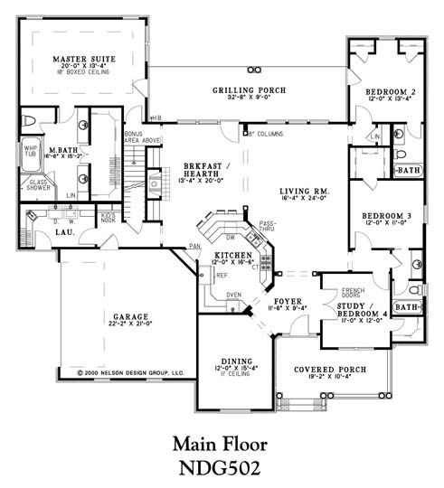 I Like The Master Suite But Would Convert Formal Dining Room To An Office Study Bedroom 4 Be Gone Make For A Powder