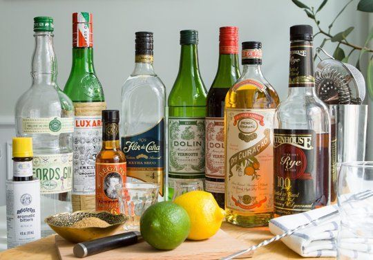 Introducing The 9-Bottle Bar: A Guide to Building a Small Yet Mighty Home Bar The 9-Bottle Bar | The Kitchn: