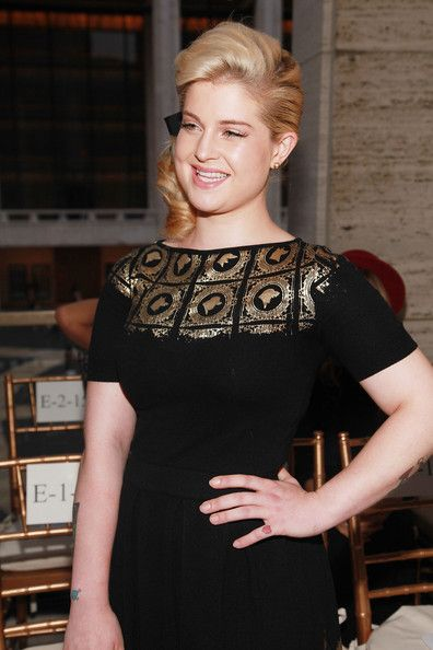 Kelly Osbourne Photo - Zac Posen - Front Row - Spring 2012 Mercedes-Benz Fashion Week