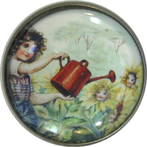Nursery Rhyme Button Mary Mary Quite Contrary