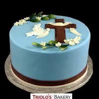 Znalezione obrazy dla zapytania communion cake