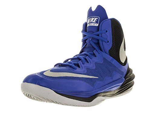 NIKE Mens Prime Hype DF II Basketball Shoe RoyalBlackReflect