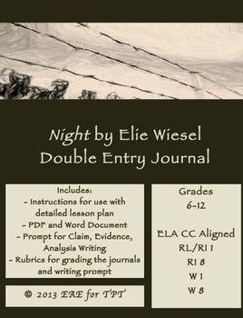 by elie essay night wiesel