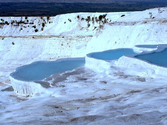 Pamukkale Travertenleri (2006) by Ömer Önüt