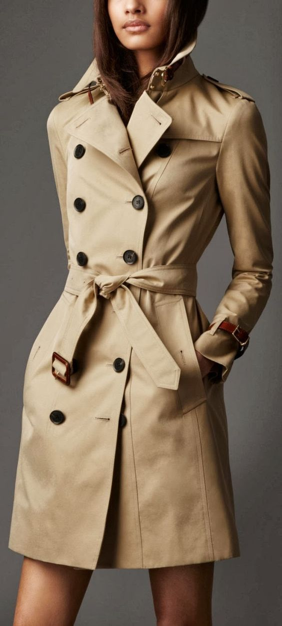 Trench coat dreams.....  Burberry Long Leather Detail Gabardine Trench Coat http://us.burberry.com/long-leather-detail-gabardine-trench-coat-p38482321