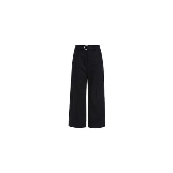 Trousers Pants For Women -Global SheIn(Sheinside) ❤ liked on Polyvore featuring pants