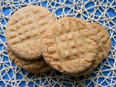 "The Virtual Goody Plate: ""The One"" Peanut Butter Cookies"