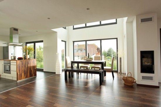 offener wohnbereich I like Pinterest Wohnbereich, Hausbau - offene kuche vom wohnzimmer trennen