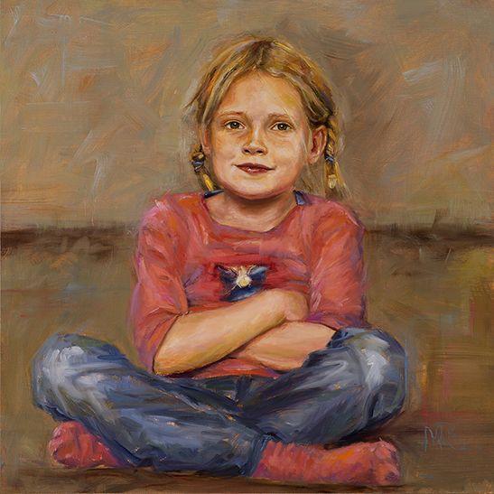 Mieke Robben. Portret in opdracht Brechtje Een portret in opdracht kan voor verschillende gelegenheden gemaakt worden. Als verrassing voor een speciale gelegenheid of als aandenken aan een bijzonder persoon.