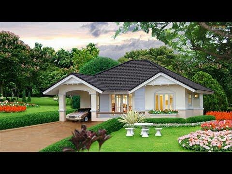 80 Beautiful Images Of Simple Small House Design Simple House Design Bungalow House Design Small House Exteriors