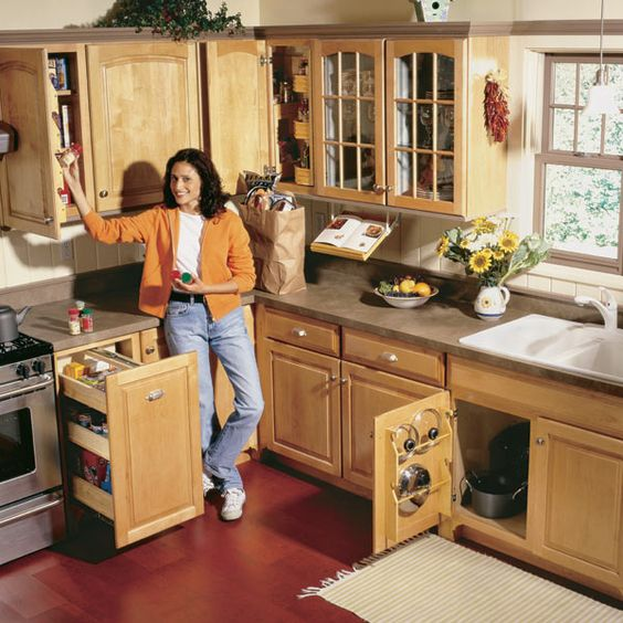 Get Creative With These Corner Kitchen Cabinet Ideas: The Family Handyman, Pot Lids And Diy Kitchen Storage On