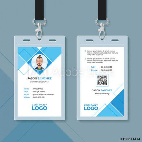 Simple Id Card Format Simple Id Card Format Simple Id Card