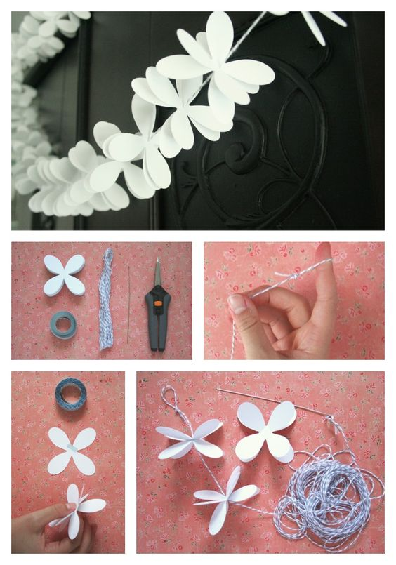 and just like that i found my flower chain wall for my bridal shower whoot!!!!!!!!!!1