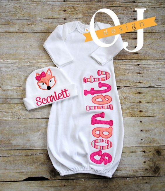 Hey, I found this really awesome Etsy listing at https://www.etsy.com/listing/260329364/personalized-name-baby-girl-embroidered