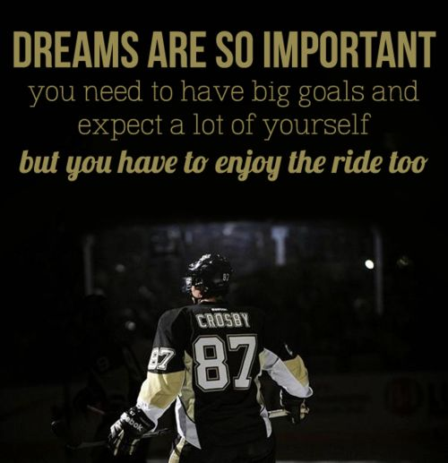 Pittsburgh Quotes: Hockey Meme // Two Quotes (1/2) -sidney Crosby