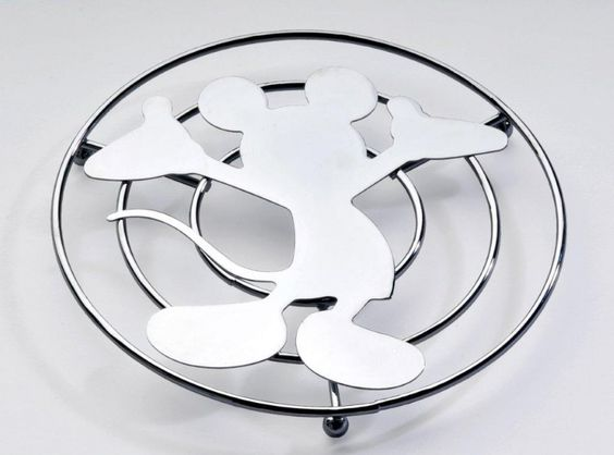 topolino disney mickey mouse sotto pentola sagomato in metallo tavola accessori cucina disney toctocshop