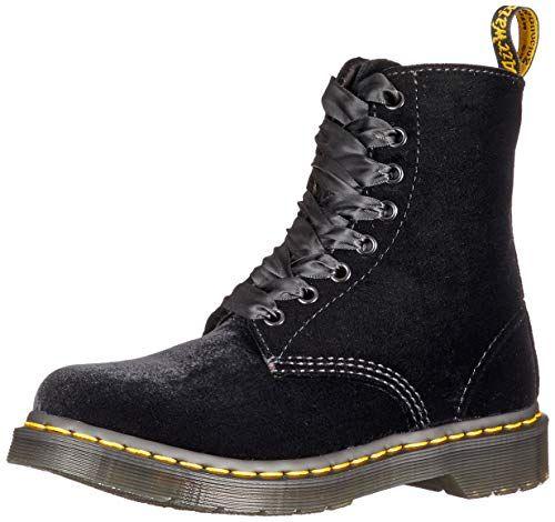 1460 pascal velvet 8 eye boot