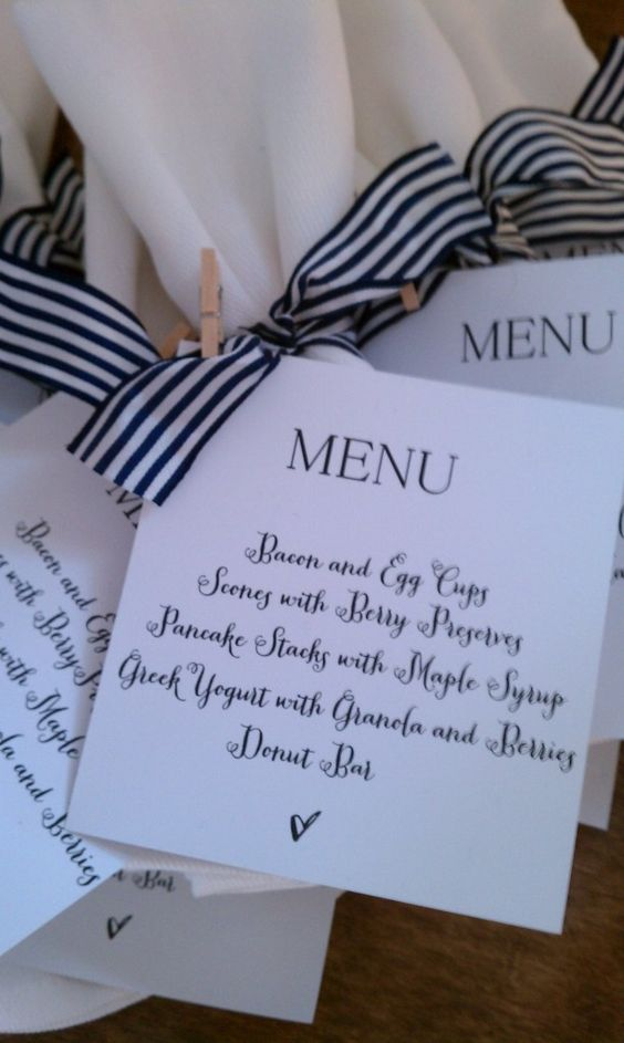 to the brunch menu love babies brunch ideas ties ribbons super easy