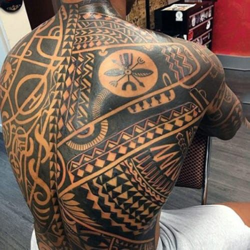 51 Best Back Tattoos For Men Cool Designs Ideas 2019 Guide Back Tattoos For Guys Cool Back Tattoos Tribal Back Tattoos