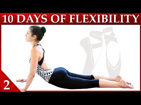 10 Day Flexibility Challenge Day 2 – Core Strength & Flexibility Conditioning Dance with Catherine - YouTube