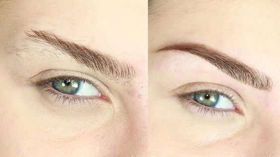 How To SHAPE Eyebrows AT HOME with TWEEZERS // SIMPLE & QUICK HACK! #eyebrows #makeup #beautyhacks #beauty #eyebrowtutorial #makeuptutorial #shaping #eyebrowsshaping #howto #eyebrowshowto