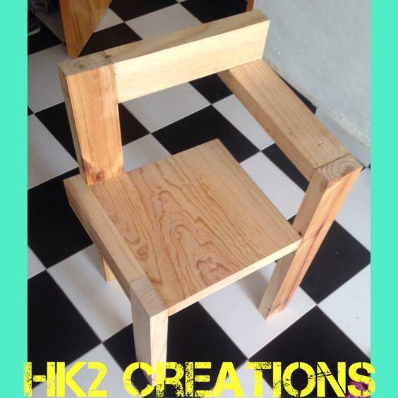 #silla #madera #natural #hogar #hk2 #hokari16