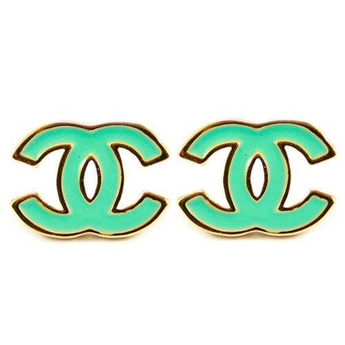 Tiffany Blue Chanel earrings