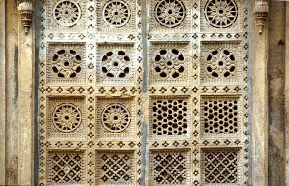 Latticework/pierced screens, Rajastan