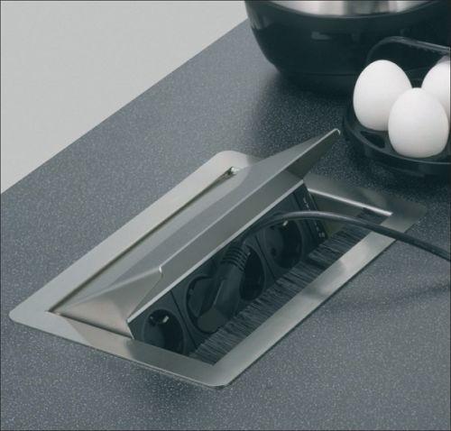 design steckdose design k che steckdose design k che or. Black Bedroom Furniture Sets. Home Design Ideas