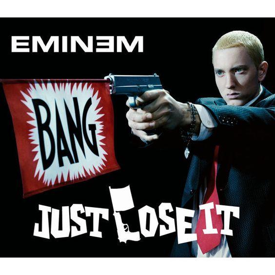 Eminem – Just Lose It (single cover art)