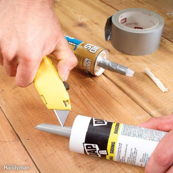 Tips For Caulking Caulking Tips Diy Home Repair Diy Home
