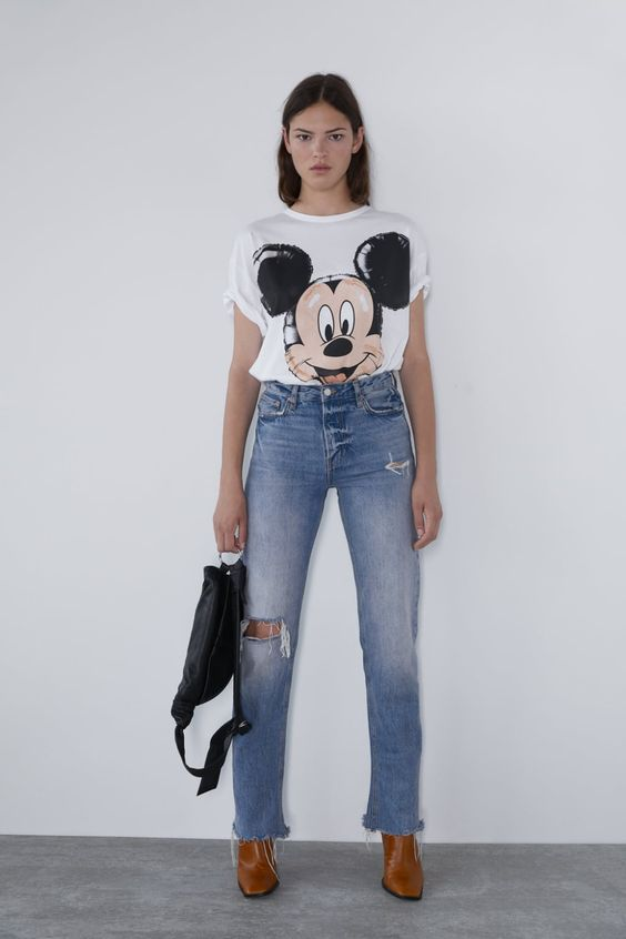 SWEATSHIRT MICKEY MOUSE ©DISNEY - ÚLTIMA SEMANA-MULHER-NEW COLLECTION | ZARA Portugal