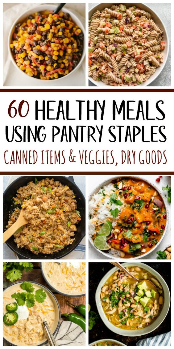 60 Healthy Recipes Using Pantry Staples - Whole Kitchen Sink